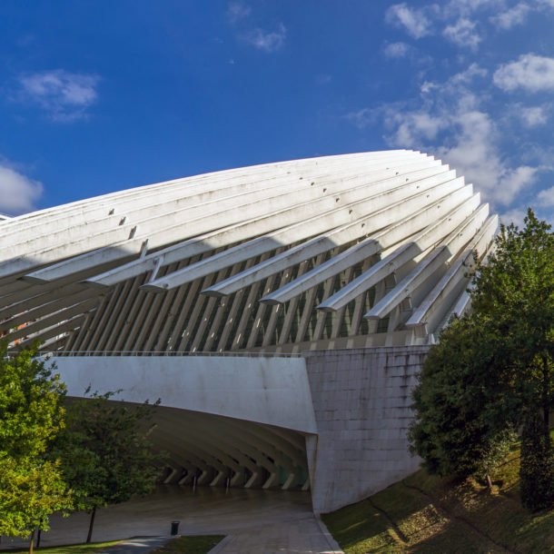 El Palacio de congresos y exposiciones ciudad de Oviedo