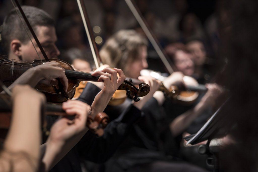 Concierto en el Teatro de la sociedad Filarmonica.