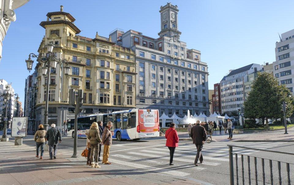 plaza de la escandalera Oviedo